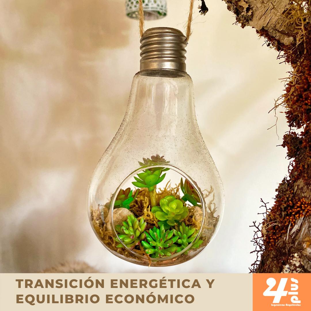 Transición energética y equilibro economico
