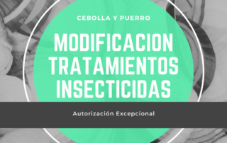 Cebolla y Puerro, modificacion resolucion comercializacion