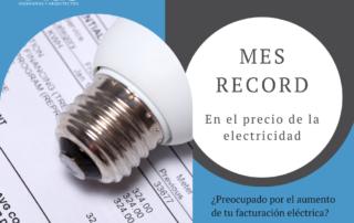 agosto: mes record facturacion electrica